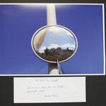 """""""Ich finde es schön, was im Spiegel gespiegelt wird"""", kommentiert der Fotograf sein Foto"""