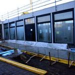 8.12.14 Erste Vorbereitungen für den Glasanbau