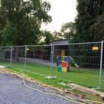 9.9.14 Das Spielplatzgelände bleibt für den Kindergarten erhalten