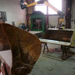 Reparaturarbeiten Baumaschinen
