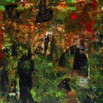 10 x 14 cm, 2009, Acryl/Pappe