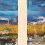 Uferlos - je 30 x 40 cm - 2010