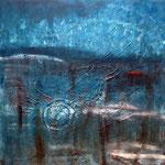 Das dunkle Erwachen - 2011 - 90x90 cm