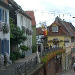 Berggasse 'Postkartenpanorama'