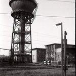 Wasserturm Bw Wedau mit Lokleitung.