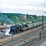 Einfahrt vom AW Zug in den Bahnhof Duisburg Wedau.