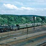 Der Zug für AW Mitarbeiter in Duisburg Wedau.