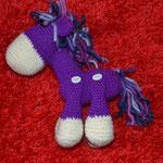 lila Pony verkauft