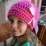 Kindermütze MILA mit Schleife