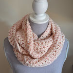 LOOP INFINI rose beige