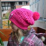 Kindermütze BRENDA Bommelmütze auch in anderen Farben erhältlich