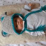 Babymütze Maus 3-6 Monate