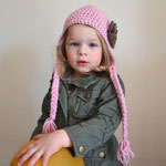 LILY ET MAX Kindermütze rosa