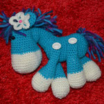 blaues Pony verkauft