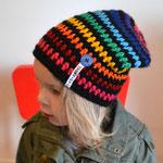 Beanie Rainbow (gibts auch den passenden Loop dazu)