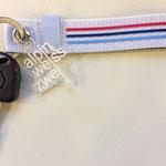 alpinweisszwei Schlüsselanhänger mit Kette (gekürzt)