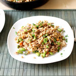 barley fried rice