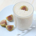 fig, apple, and honey smoothie