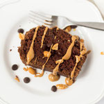 vegan chocolate peanut butter cake recipe