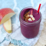 cherry apple beet smoothie