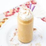 Pumpkin pie protein smoothie recipe