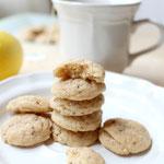 mini lemon-chia almond cookies