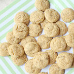 Mini lemon-almond chia cookies