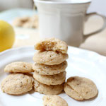 mini lemon-chia almond cookies