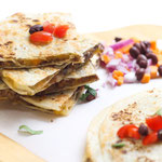freezer-friendly beef and mushroom quesadillas recipe