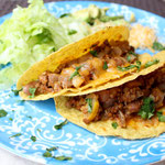 Easy Cheesy Beef Tacos