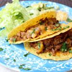 Easy Cheesy Beef Tacos