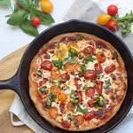 vegetarian skillet pizza recipe