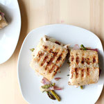 Italian Chicken and Veggie Panini