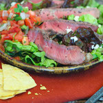 Perfect grilled steak salad recipe