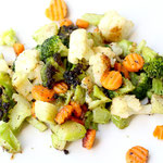 Easiest ever roasted veggies