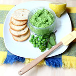 Vegan mint pea pesto
