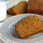 vegan pumpkin banana bread
