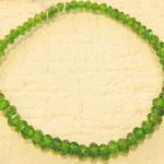 小粒なグリーンが可愛らしい、ロシアのエメラルドとも表現される「クロムダイオプサイト」