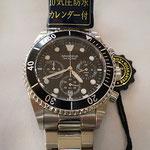 見やすいラウンド型に24時間表示が便利な、使いやすい腕時計