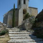 Eglise Notre Dame d'Alidon à Oppède le Vieux