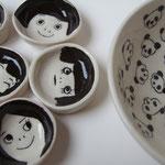 乙女豆皿 パンダ皿
