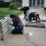 Wir bauen unser Sofa