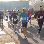 Süderelbe-Halbmarathon 2011 in schwarz - Nr. 110