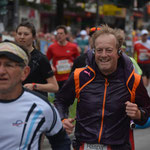 Noch guter Laufe bei Kilometer 2