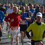Start zum 12 Kilometer-Lauf über die Köhlbrandbrücke 2013