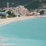 Super Wetter, super Wasser, einfach toll ... die Karibik-Insel St. Maarten
