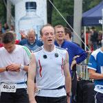 2011 nach 21,1 Kilometern im Ziel - völlig fertig!