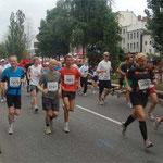 Hella-Halbmarathon 2009 auf der Reeperbahn (Abbruch nach 11 Kilometern)
