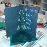 Origami Weihnachtskarten