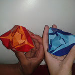 Origami-Action-Kobras von Jeremy Shafer